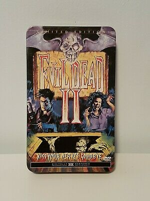 Evil Dead 2: Dead by Dawn (DVD Limited Edition Tin)