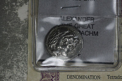 Alexander the Great Tetradrachm - Herakles/Zeus 336-323 BC  - Nice XF Coin!