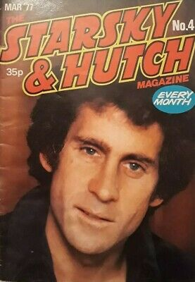 Starsky And Hutch Magazine No 4.March 1977.Paul Michael Glaser Cover.Letters+