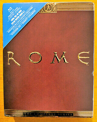 Rome: The Complete Series (Blu-ray Disc, 2013, 10-Disc Set)