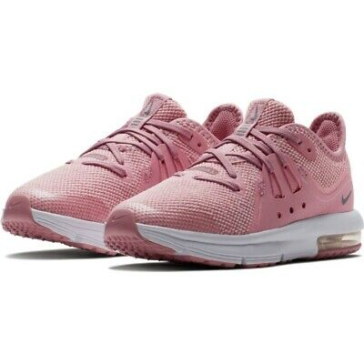 9ae3aa8a50 NEW GIRLS PINK Nike Air Max Sequent 3 Sneakers Size 4.5Y - $34.99 ...