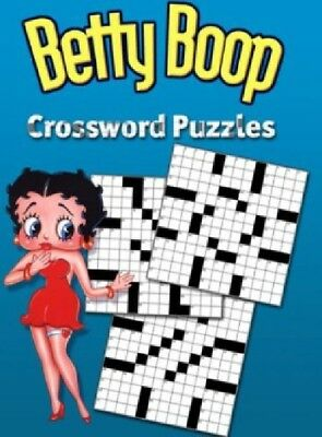 Betty Boop Crossword Puzzles Pc New Cd Rom In Paper Sleeve Free US Ship XP