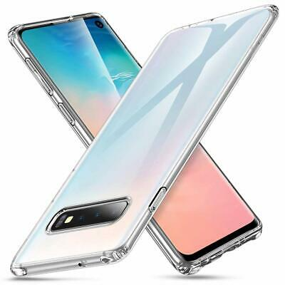 Anti Choc Coque Samsung Galaxy S10/Plus/S10/Edge S9/S8/S7 Transparente Silicone