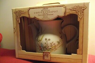 Marks & Spencer Harvest Teapot Coffe Pot - Original Box St Michael Harvest