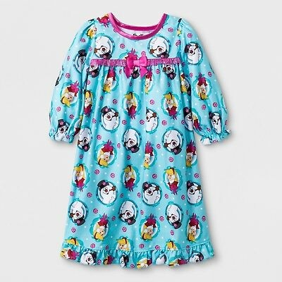 b2bb48d5ca73 TODDLER GIRLS FROSTY The Snowman Blue Christmas Holiday LS Nightgown ...