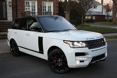 2014 Land Rover Range Rover Autobiography 4x4 4dr SUV 2014 Land Rover Range Rover Autobiography Supercharged STARTECH Edition
