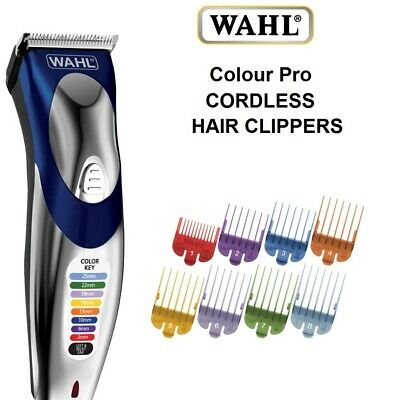 Wahl Cordless Rechargeable Professional Hair Clipper Shaver Trimmer Grooming Set