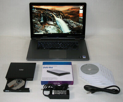 DELL INSPIRON 15-7558 2in1 3.0GHz i7~8GB~512GB SSD~TOUCH~DVD~W10 PRO~OFFICE 2016