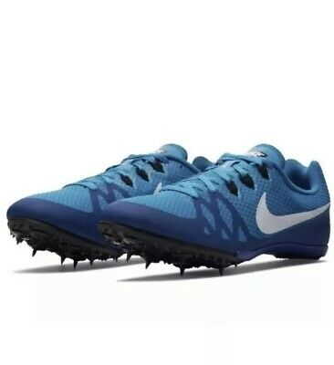 separation shoes ada36 c5b50 NEW Nike Mens Zoom Rival M8 Track Field Sprint Spikes 806555-414 Size 12