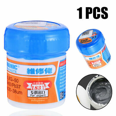 Sn63/Pb67 Welding Flux Solder Paste Flux XG-50 BGA SMT Reballing Leaded 20-38um