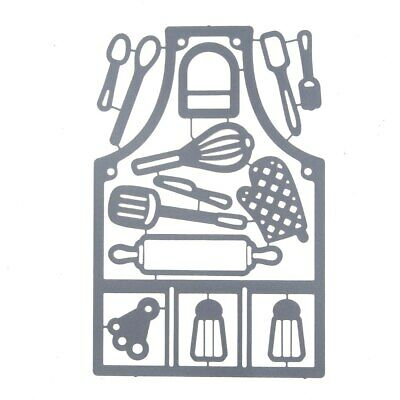 Kitchen Apron  Metal Cutting Dies for Cards MakingCut Die Knife Mold