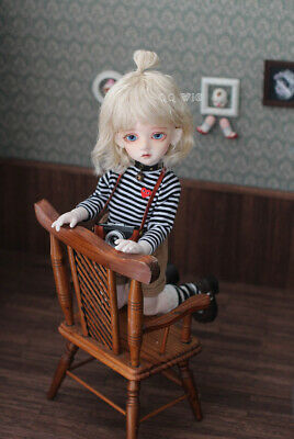 QQ-40B Pink Color BJD Doll Mohair Wig {Dolly Planet} 1//8;1//6 ;1//4  *Micky*