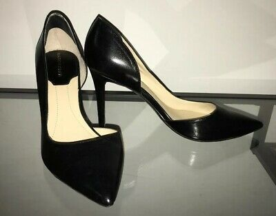 01740daf2c46 Women's Marc Fisher Black Leather Pointed-Toe High Heels - Size 8.5 M