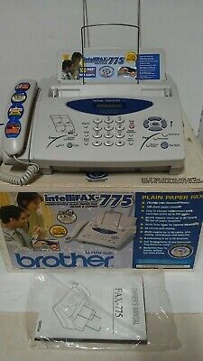 Brand New Brother Intellifax 775 Plain Paper Fax with Phone and Copier Open Box