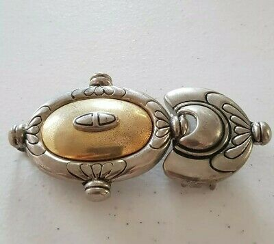 Dame Belt Brand Chunky Two Part Belt Buckle .N17