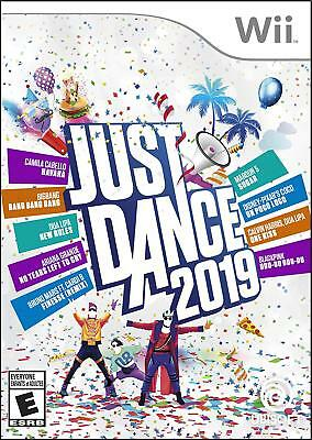 Brand New Sealed JUST DANCE 2019 Dancing Game (Nintendo Wii, 2018)