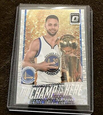 0f3bdecf9b05 2017-18 Donruss Optic Fast Break The Champ Is Here  5 Stephen Curry