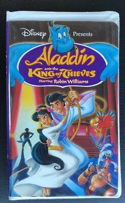 Disney Aladdin And The King Of Thieves (VHS, 1996) Clam Shell - Robin Williams
