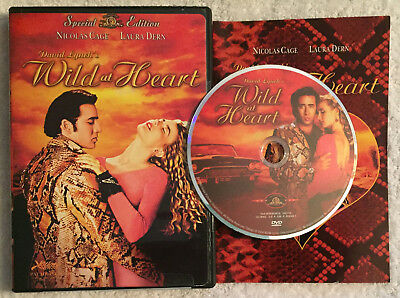 Wild at Heart 1990 (DVD 2004 OOP R1 MGM Special Edition) David Lynch Cage Dern