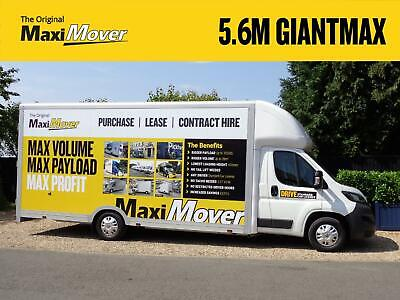 Peugeot Boxer Maxi Mover 5.6M ProMAX Ultra-Lightweight Low Loader Luton Van