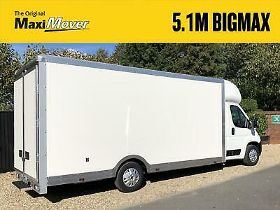 Peugeot Boxer Maxi Mover 5.1M ProMAX Ultra-Lightweight Low Loader Luton Van