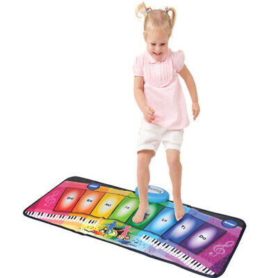 Kids Musical Electronic Dance Playmat Rainbow Zoo Piano Keyboard Music Party Toy
