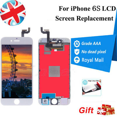 For iPhone 6S Screen Replacement LCD Touch Display Digitizer Assembly White