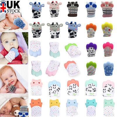29 Style Newborn Baby Silicone Mitts Teething Mitten Molars Glove Wrapper Gift