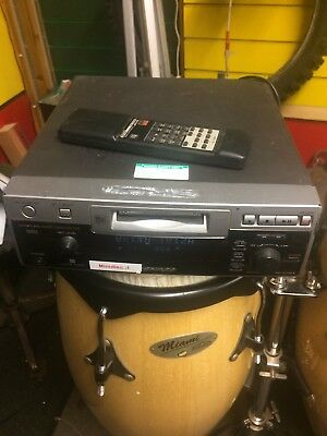 Sharp MD-R1mk2 Mini Disc Recorder Player Deck With Remote FREE UK POSTAGE