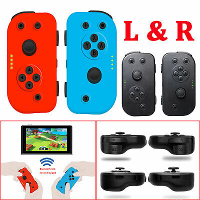 Left & Right Game Controllers Joy-Con Gamepad Joypad for Nintendo Switch Console