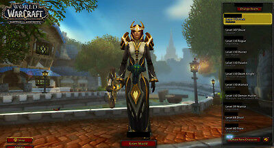 Top WoW Priester, Druide, 5x Realm First, 18.000 EP, CM Gold, Legendary, Classic