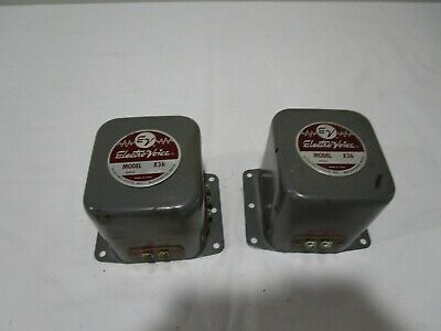 Vintage Pair of Electro Voice X36 Crossovers - EV ---------------------->Cool!!!