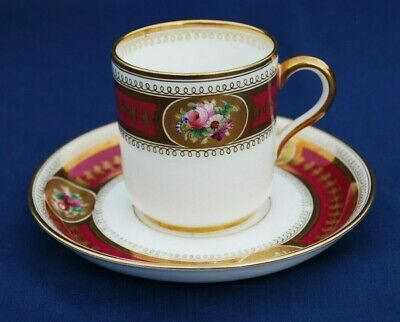 VINTAGE (No.3305) Bone China COFFEE CUP & SAUCER. Excellent Condition