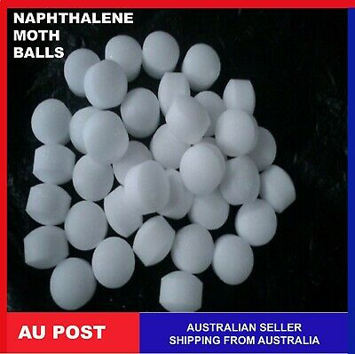 Naphthalene Moth Balls wardrobes repellent Clothing Kill Insects Mothballs