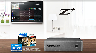 Formuler Z+ Plus 4K WIFI IPTV Android + 12 Month's VPN