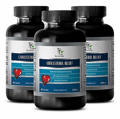 Policosanol - CHOLESTEROL RELIEF - Triglyceride-lowering effects - 180