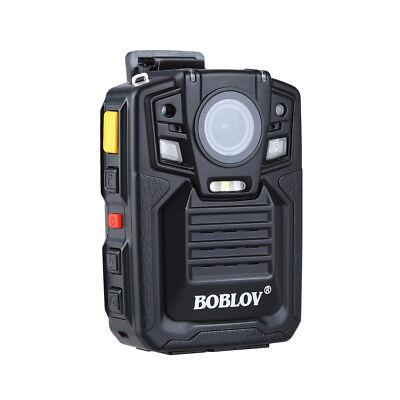 Infrared Night Vision HD 1296p Police Body Video Camera Security 64G+ Battery