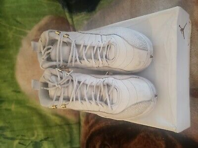 huge selection of f8b1a d808d AIR JORDAN RETRO 12 OVO White Size 10