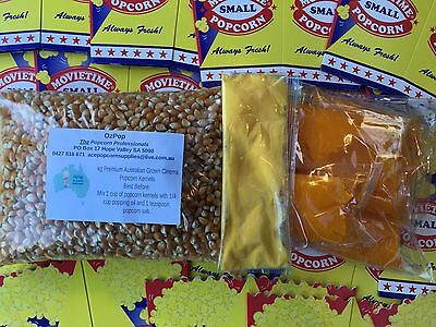 Cinema Popcorn Fundraiser Pack! Makes 300 bags of Cinema Quality Popcorn