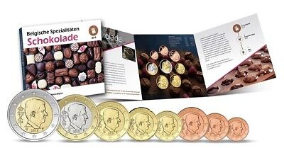 Coffret BU Belgique 2019 - Salon de Berlin - World Money Fair 2019 - Chocolat