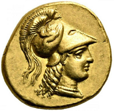 ALEXANDER III the GREAT 332BC Authentic Ancient Gold Stater Coin LIFETIME ISSUE
