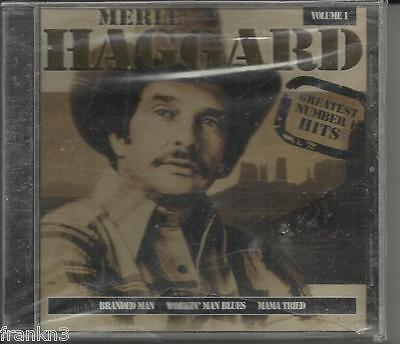 Merle Haggard - Greatest Number 1 Hits, Vol 1 - BRAND NEW!!!!FREE SHIP USA