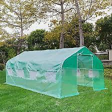 20′x10′x7' Walk-in Greenhouse Large Plant Outdoor Gardening Hot House Flower Ten