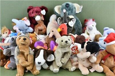 Massive bundle of TY Teddies- Most With Tags - Assortment Cuddly Toys Collection