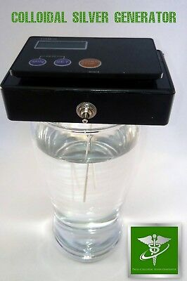 Colloidal Nano Silver Water Generator Britains No1 Best Seller