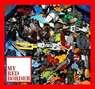 Lego BIONICLE 1kg-1000g Mixed Bundle Hero factory Spares Parts Pieces joblot