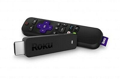 Roku Streaming Stick | Portable, power-packed player with voice remote with TV p