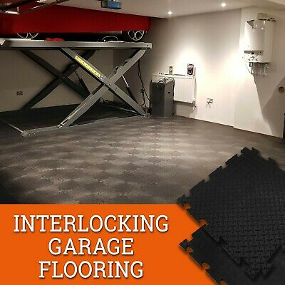 Garage / Workshop / Warehouse & Gym PVC Interlocking Heavy Duty Industrial Tiles