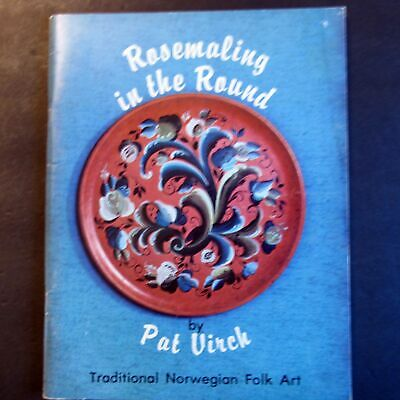 Rosemaling In The Round Painting by Pat Virch Hallingdal Telemark Rogaland