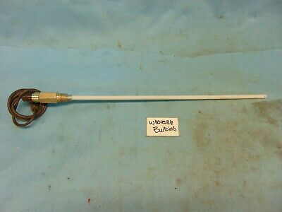 "Hansen Technologies Transducer Probe, 11Bc16, 20"" Insertion L, .38"" Dia, 1/2""Npt"